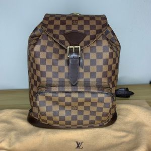 Louis Vuitton Montsouris Damier Ebene Backpack